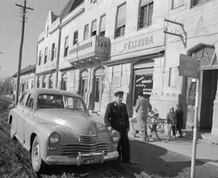 Közlekedés - Vidékfejlesztés - Taxiállomás Mindszenten