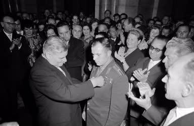 Külkapcsolat - Fogadás Jurij Gagarin tiszteletére a Parlamentben