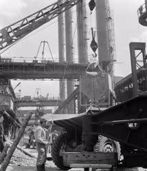 Ipar - Az Ózdi Kohászati Üzemek Acélművének rekonstrukciója