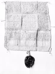 Kultúra -  Oklevél - A Szent György-társaság alapító levele