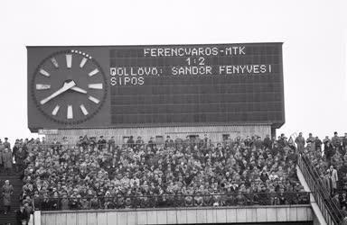 Sport - Labdarúgó NB I - Ferencváros-MTK mérkőzés