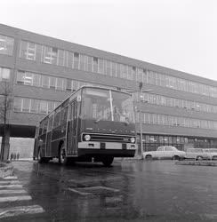 Járműipar - Új Ikarus autóbuszok - Sajtótájékoztató