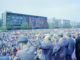 Belpolitika - Május elsejei felvonulás a fővárosban