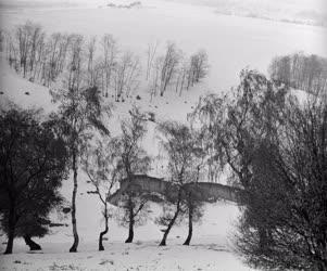 Időjárás - Hóakadály - Télies időjárás a Dunántúlon