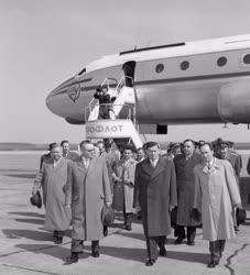 Külkapcsolat - Szovjet küldöttség Budapesten