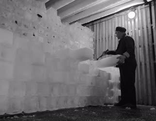 Ipar - Jégtáblák nyáron