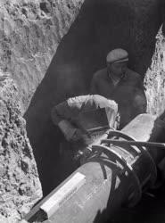 Ipar - Építőipar - A Barátság Kőolajvezeték építése
