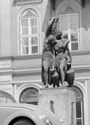 Városkép - Budapest - Danaidák kútja a Belvárosban