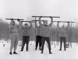 Sport - A kajak-kenu válogatott edzése