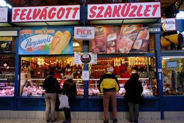 Budapest - Kereskedelem - Központi Vásárcsarnok