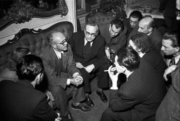 Külkapcsolat - Kiszeljov szovjet nagykövet fogadása