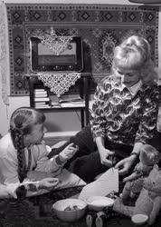 Kultúra - Személy - Csáky Magda otthonában