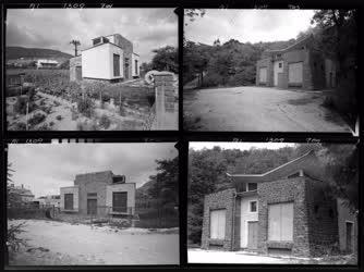Villamosipar - Trafóházak Tihanyban és Badacsonyban