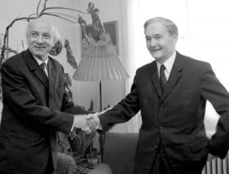 Németh László kitüntetése