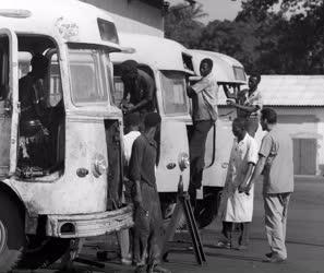 Külpolitika - Külkereskedelem - Ikarus autóbuszok Guineában