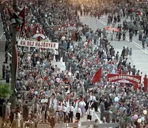 Belpolitika - Május elsejei felvonulás