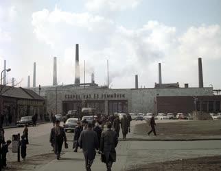 Ipar - Csepel Vas- és Fémművek főbejárata