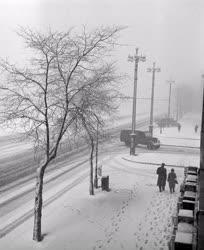 Időjárás - Márciusi havazás