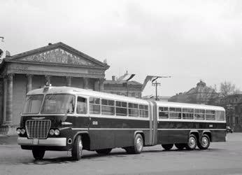 Közlekedés - Járműipar - Új csuklós autóbusz