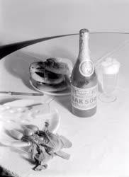 Gazdaság - Szeszipar - A Dreher Excelsior Bak reklámfotója