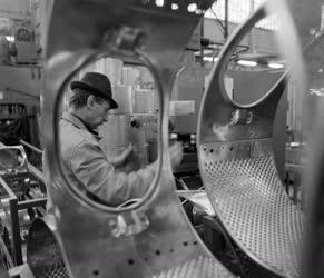Ipar - Minimat mosógép a Hajdúsági Iparművekből
