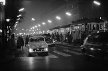 Táj, város - Esti képek Budapesten