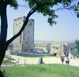 Városkép - A nagyvázsonyi vár