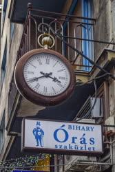 Városkép - Budapest - Óráscégér