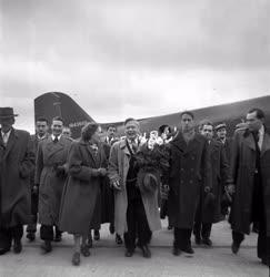 Külpolitika - Szovjet küldöttség a Magyar Békekongresszuson