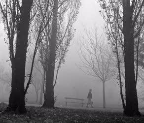 Időjárás - Ködös Budapest