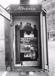 Külkapcsolat - Városkép - Köztéri vitrin Albániáról