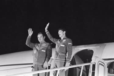 Tudomány - V. Kubaszov és Farkas Bertalan űrrepülése