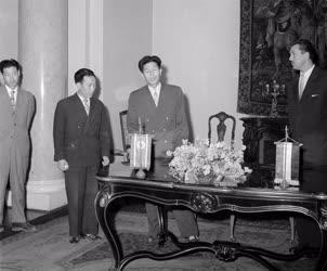 Külkapcsolat - Magyar-koreai tudományos együttműködési szerződés