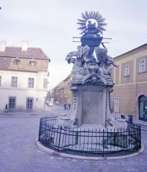 Városkép-életkép - Műemlék - A győri Frigyláda-szobor