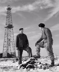 Ipar - Kőolajipari Tröszt Alföldi Kőolajfúrási üzeme
