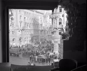 Városkép - Budapest az 1956-os forradalom és szabadságharc után