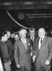 Munkásgyűlés 1973-ban.
