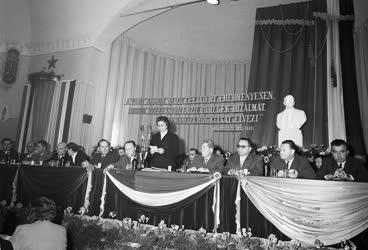 Belpolitika - Budapesti Pártbizottság pártértekezlete