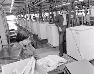 Ipar - Gépgyártás - Meózzák a hűtőszekrényeket