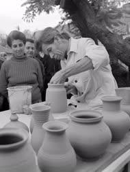 Kultúra - Népművészeti bemutató Tihanyban
