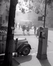 Városkép - Taxiállomás Budapesten