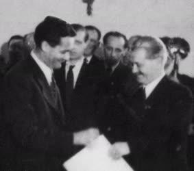 Kossuth-díjasok - Erdei Ferenc