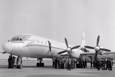Légi közlekedés - A MALÉV új óriásgépe