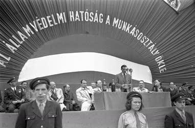 Belpolitika - A MÁVAG és az ÁVH közös ünnepségén