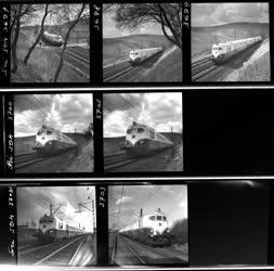 Ipar - Közlekedés - Hargita Diesel vonat próbaútja