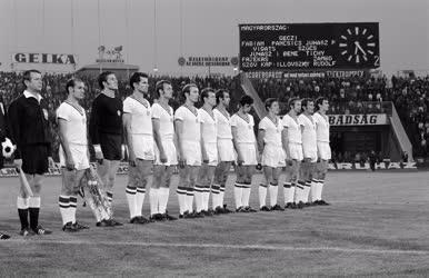 Sport - Labdarúgás - Magyarország-Jugoszlávia