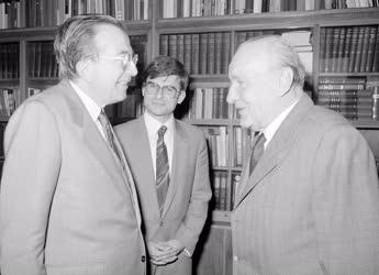 Külkapcsolat - Giulio Andreotti és Kádár János találkozója