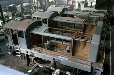 Ipar - Ganz–MÁVAG Mozdony-, Vagon- és Gépgyár