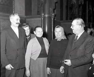 Belpolitika - Országgyűlés 1958-ban