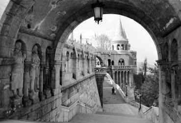 Városkép - Budapest - Halászbástya
